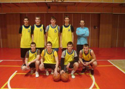 Basketbal SŠ – o postup na MS