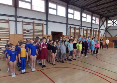 Gymnastika – obv. kolo, ZŠ