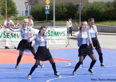 Streetball Challenge Ružomberok – vystúpenia tanečných ZÚ Hip-Hop 5.-9. a Hip-Hop SŠ