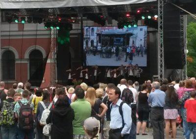 Ružomberský jarmok 2016 – vystúpenia tanečných ZÚ
