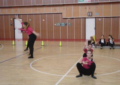 Deň športu – vystúpenia tanečných ZÚ Disco, Základy moderného tanca, Hip-hop SŠ