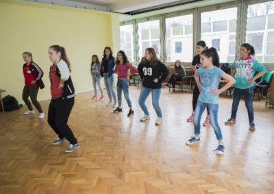 """Tanečný workshop pre organizáciu """"Úsmev ako dar"""""""
