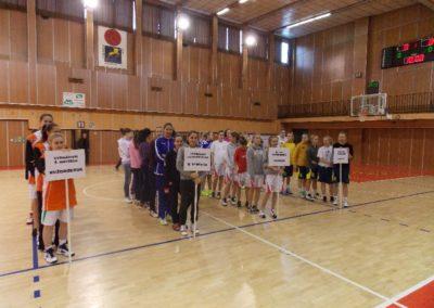 Basketbal – kval. na MŠM, žiačky