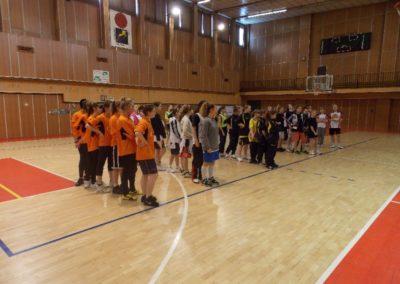 Basketbal – obv. kolo, žiačky ZŠ