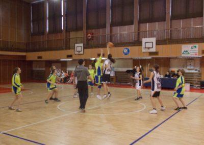 Basketbal – kval. do KK, žiačky ZŠ