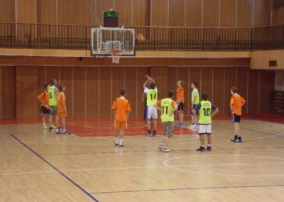Basketbal – kval. do KK, žiaci ZŠ