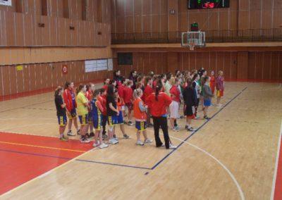 Basketbal – kraj. kolo, žiačky ZŠ