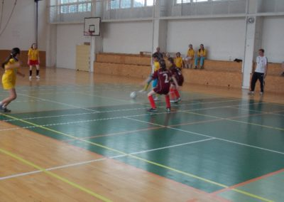 Malý futbal – Dôvera školský pohár – obv. kolo, žiačky ZŠ