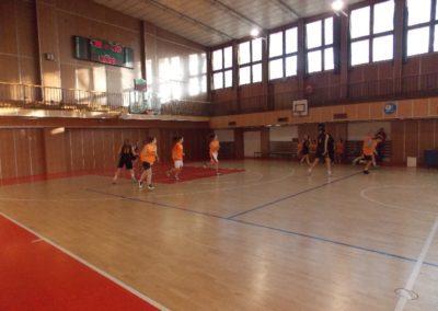 Okresné kolo v basketbale študentiek SŠ