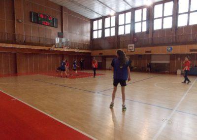 Okresné kolo v basketbale žiačok ZŠ