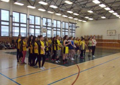 Okresné kolo vo volejbale študentiek SŠ