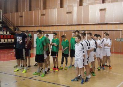 Okresné kolo v basketbale žiakov ZŠ