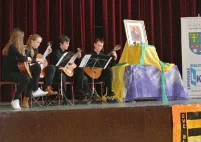 Obvodné kolo 61. ročníka súťaže v umeleckom prednese poézie, prózy a v tvorbe divadiel poézie – Hviezdoslavov kubín