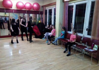 Mikuláš v Eláne pre členov ZÚ Základy moderného tanca