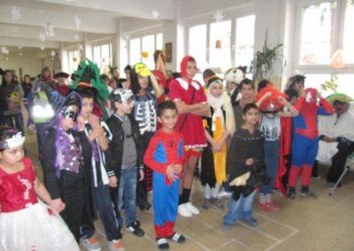 Fašiangový karneval pre žiakov Spojenej ZŠ
