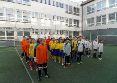 """Okresné kolo v malom futbale mladších žiakov ZŠ – """" Dôvera Školský pohár SFZ """""""