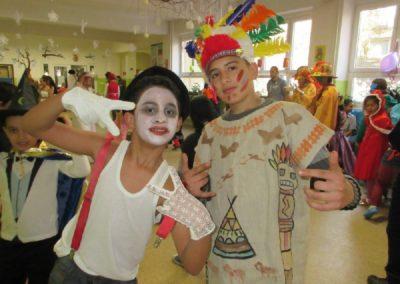 Fašiangový karneval pre žiakov Spojenej školy