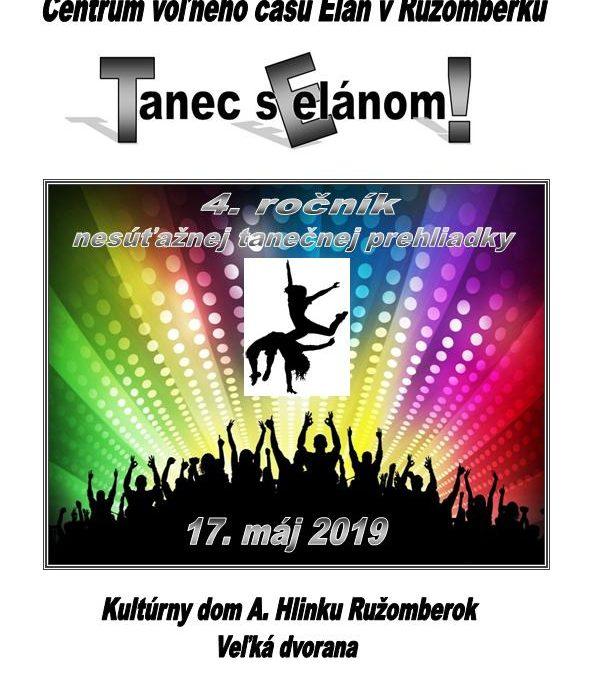 TANEC S ELÁNOM! – prihlášky do 26.4.2019! 97587df9e71